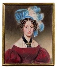 marie von tennenberg (tenamberg ?) by alois von anreiter