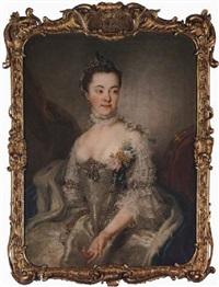 portrait of princess charlotte amalie wilhelmine von schleswig-holstein sonderburg plön by stefano torelli