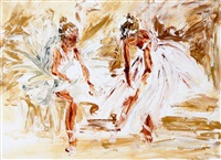 the two dancers by louise mansfield