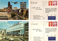 from i got up series (set of 2) by on kawara