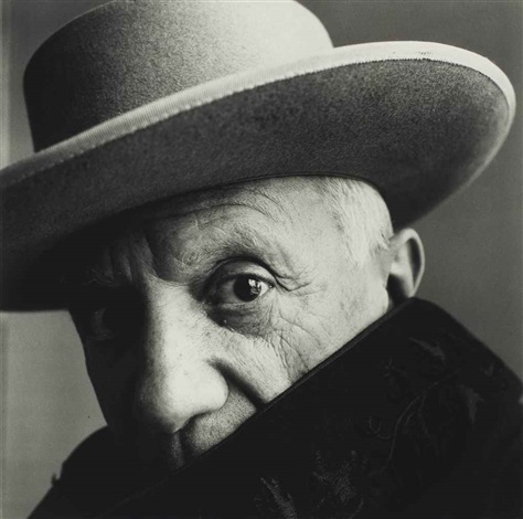 picasso cannes france by irving penn
