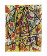 a space of cadmium by richard pousette-dart