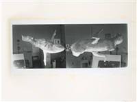 untitled (2 works) by bruce nauman