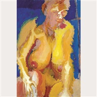 untitled nude by greg curnoe