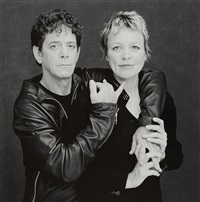 lou read + laurie anderson by timothy greenfield-sanders