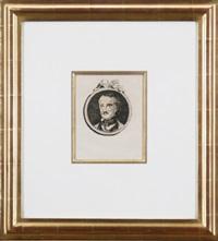 portrait of edgar poe by édouard manet