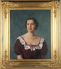 portrait of ernestine caldwell barger wade by paul bartlett
