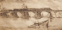 bridge fremantle by henri van raalte