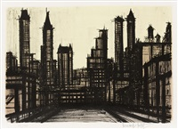 from 'album new york' by bernard buffet
