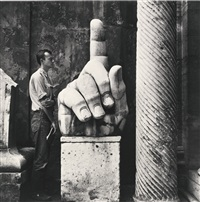 cy + relics – rome by robert rauschenberg