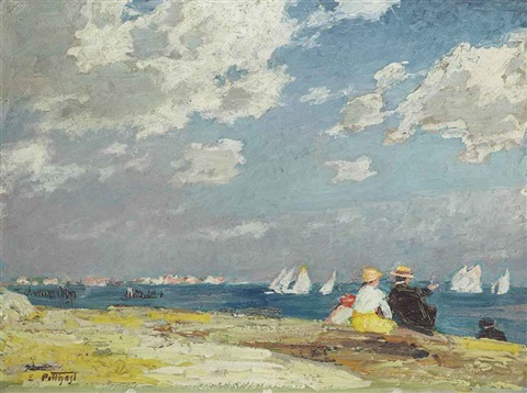 sailboats by edward henry potthast
