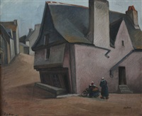 maisons de village by jules leray