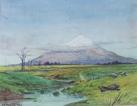 mt egmont by william menzies gibb