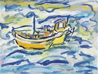 untitled (fishing boat) by beauford delaney