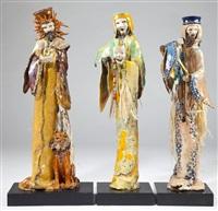 leo, libra and gemini (3 works) by george alexander