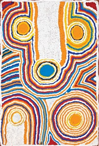 untitled by napanangka nancy naninurra