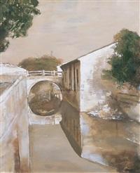 house and bridge by xia baoyuan