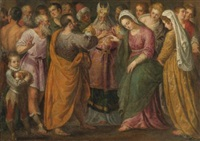 the marriage of joseph and mary by giuseppe (salviati) porta