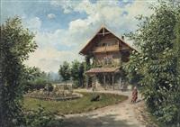 giardino della villa by marie ertl