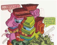 why is cubism a good style by peter saul