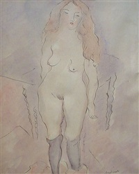 nu érotique by jules pascin