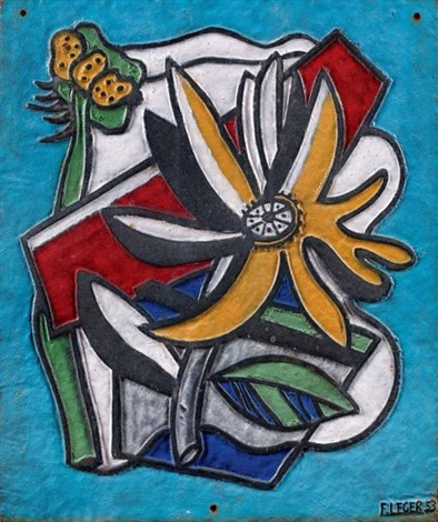 composition au tournesol by fernand léger