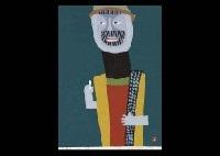 mountain man (1) (+ an old mountain man, lrgr; 2 works) by umetaro azechi