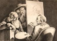 portrait du centenaire de lyon by jean-jacques de boissieu