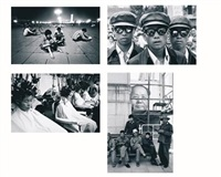 students in tiananmen square (+ 3 others; 4 works) by liu heung shing