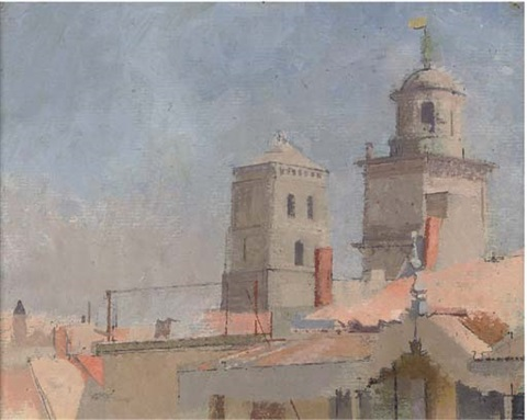 st trophime arles ii by william coldstream