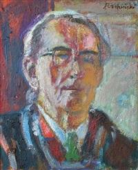 autoportrait by czeslaw rzepinski
