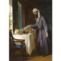 easter feast by firs sergeyevich zhuravlev