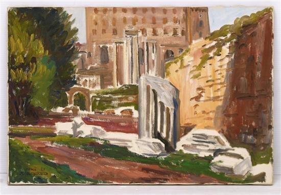 lateral del foro romano by raúl anguiano