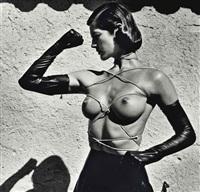 tied up torso, ramatuelle by helmut newton