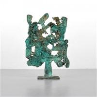spill cast sculpture by harry bertoia