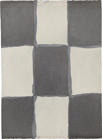 untitled (unframed) by sean scully