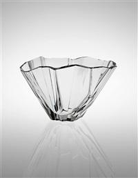 large jäävuori (iceberg) vase, model no. 3827 by tapio wirkkala