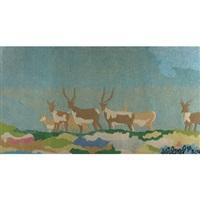 wildlife landscape by joyce wieland
