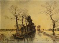 river landscape by karl heffner