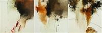 untitled (triptych) by farideh lashai
