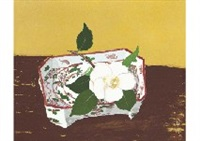 white camellias by yuki ogura