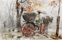 la vecchia carrozzella by aldo raimondi