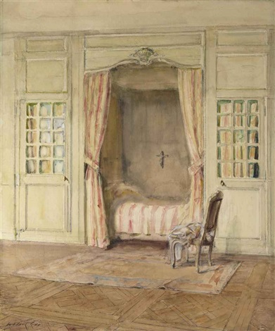 intérieur dune chambre by walter gay
