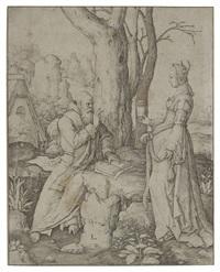 la tentation de saint antoine by lucas van leyden