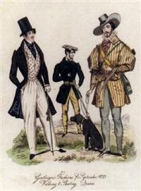 regency gentlemen's fashions by william wolfe alais