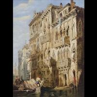 palazzo contarini-fasan by david roberts