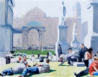 summerlunch, city hall, belfast by david mcelhinney