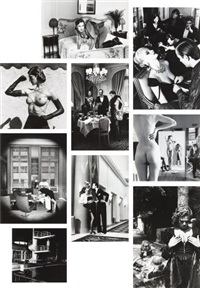 private property: suites i, ii and iii (3 portfolios w/45 works) by helmut newton