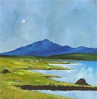 connemara peat stacks by david gordon hughes