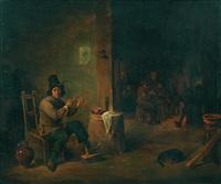 der raucher im bauernwirtshaus by david teniers the younger